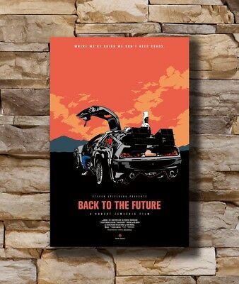 Hot Back To The Future De Lorean DMC New Art Poster 40 12x18 24x36 T-3902