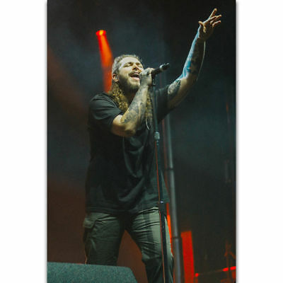 #01 Post Malone Rap Hip Hop Musician Large Print Poster