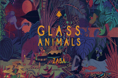"""Glass Animals How To Be A Human Being Album Art Poster 24x24/"""" Print Music Silk"""