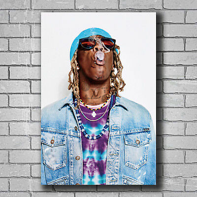 Hot Young Thug Barter 6 Custom Rap Music Singer Star New Art Poster 24x36 T-4556