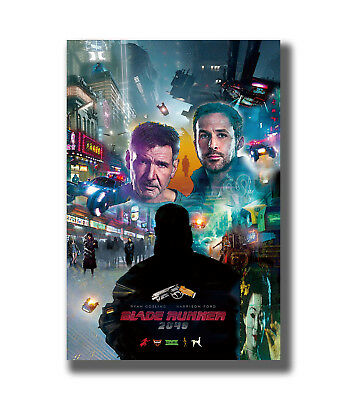 Blade Runner 2049 Harrison Ford 2017 Movie Hot Fabric Poster Art TY857 24x36 Inc