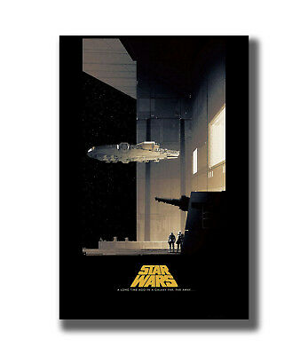 Star Wars a New Hope Classic Movie Film Fabric Poster Art TY392 - 20x30 24x36 In