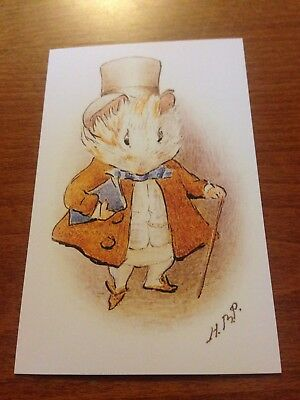 Cecily Parsley/'s Nursery Rhymes #1 Beatrix Potter Themed Postcard NEW