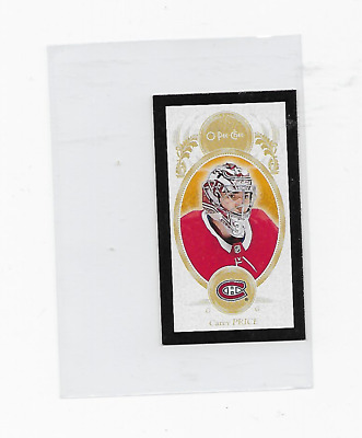 Carey Price 2018-19 Opc #m-58 Mini Black Border Sp Canadiens Blasters Only Habs