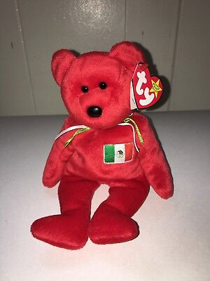 Ty Beanie Baby ~ 1999 OSITO ~ The Mexico Bear ~ Collectible MWMT SALE!!!
