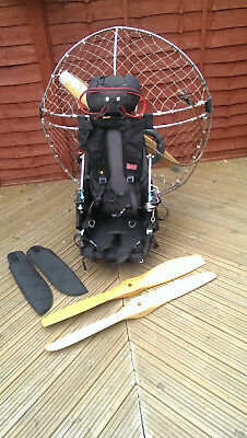 Paramotor PAP TOP80 1100AS Lightweight Reliable Machine with loads of extras