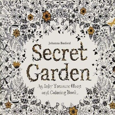 Secret Garden Colouring Book Children's Colouring Book Adult Colouring Book