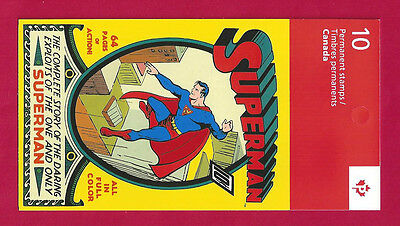 Canada   BK555      SUPERMAN BOOKLET  VFNH   New 2013 Issue