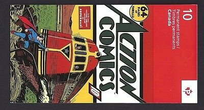 Canada   BK556    SUPERMAN BOOKLET     VFNH    New 2013 Issue