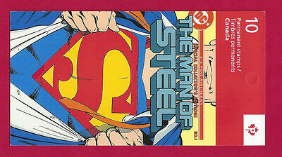 Canada  BK557   SUPERMAN BOOKLET   VFNH   New 2013 Issue