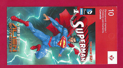 Canada   BK559      SUPERMAN  BOOKLET  VFNH     New 2013 Issue