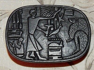 Egyptian Stone Carving. Rich with Symbolism. Mint Conditon.