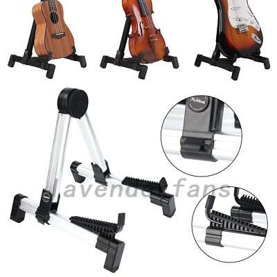 A-FRAME Folding Guitar Stand  For Acoustic and Electric Guitars Ukulele AU