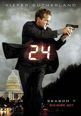 24: Season 7 (DVD, 6-Disc Set, Widescreen) Usually ships within 12 hours!!!