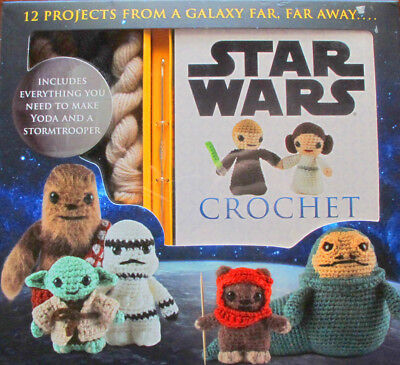 Star Wars Crochet Kit 12 Projects from a Galaxy far, far away