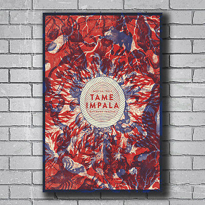 New Tame Impala Psychedelic Rock Band Cover Custom Poster Print Art Decor T-80