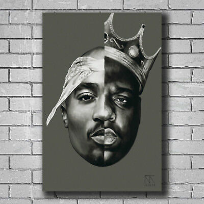 Hot Tupac 2pac Me Against The World Rap New Art Poster 40 12x18 24x36 T-4568