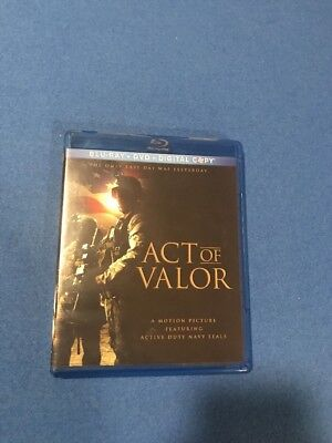 Act of Valor (Blu-ray/DVD, 2012)
