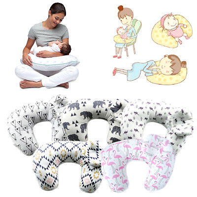 2 Pieces Baby Breastfeeding Cuddle-U Nursing Pillow Mummy Waist Support Cushion