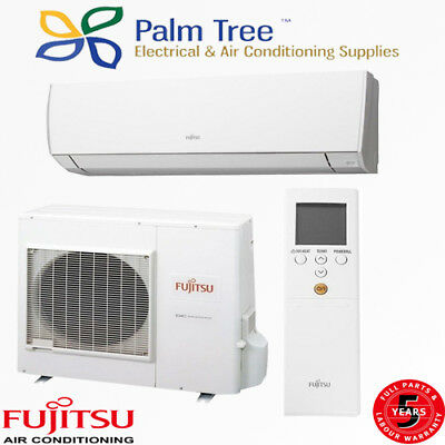 Fujitsu Air Conditioner 2.5KW ASTG09KMCA Split Wall System supply only