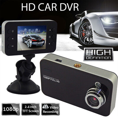 "In CAR DVR Compact Camera 2.4""FullHD 1080P Recording Dash Cam Camcorder Motion E"