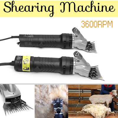 850W Electric Shearing Clippers Shears Sheep Goat Trimmer Grooming Farm