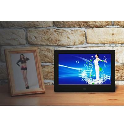 "7"" 720P HD LCD Digital Photo Frame Picture Video MP3 Player Calendar Clock"