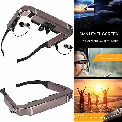 """80"""" Screen Vision 800 3D WiFi Smart Video Glasses for Android 4.4 Bluetooth V4.0"""