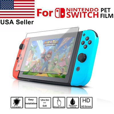 Clear 9H Premium Tempered Glass Protective Screen Protector for Nintendo Switch