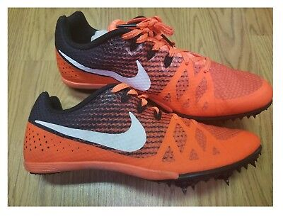 more photos 4fe5a ac895 Nike Zoom Rival M Track Multi Use Events w  Spikes 806555-811 Orange Size