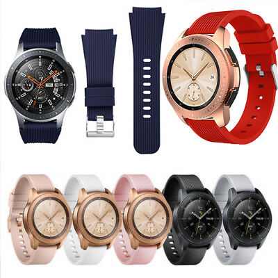 Quick Release Silicone Strap Band For Samsung Galaxy SM-R810 Sport Smart Watch