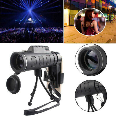 Ultra High Power 40X60 Portable HD Night Vision WaterProof Monocular   42mm