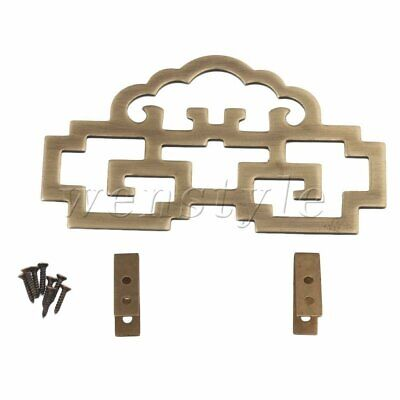 Old Chinese Style Bronze Picture Painting Frame Hanger Hanging Hook 11x6.3cm