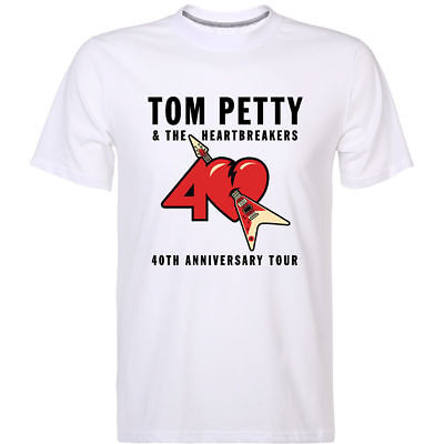 Tom Petty and The Heartbreakers 40th anniversary tour T-Shirt S-4XL C394