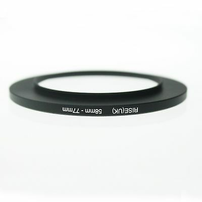 RISE(UK) 58-77 58MM-77MM 58mm to 77mm Matel Step Up Ring Filter Camera Adapter