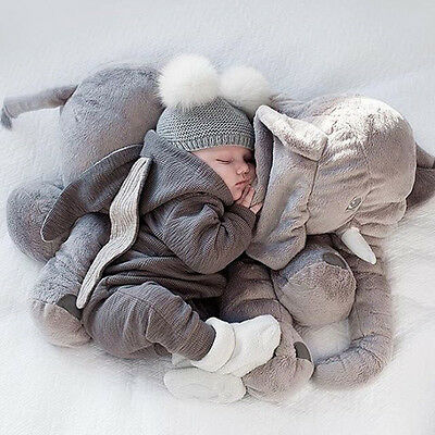 Baby Boy Girl Bunny Romper Costume Rabbit 3D Ear Hooded Bodysuit Outfit Clothes