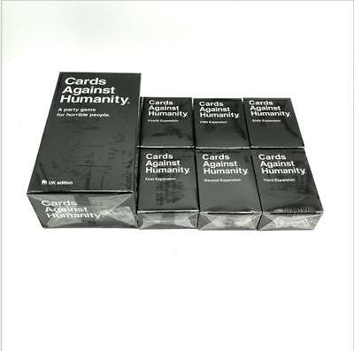Cards Against Humanity  UK edition 550 + 1 to 6 Expansion Board Card Party game