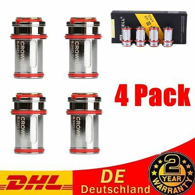 4pcs Größe 0.4ohm Uwell Crown 3 Coil Head Replacement Crown III Tank Coils DHL