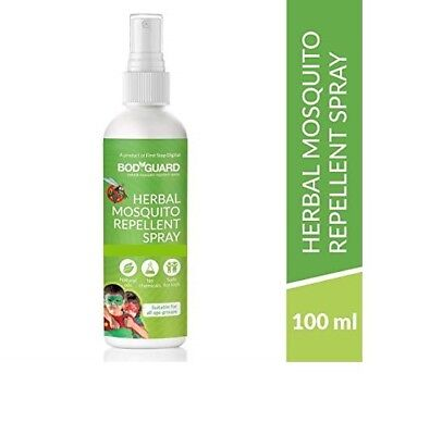 Bodyguard Herbal Mosquito Repellent Spray 100ml Free Shipping