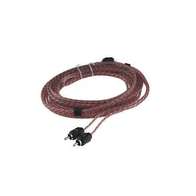 Stinger SI4212 12ft 3.7m 4000 Series 2 Channel Car RCA Amp Cable Lead