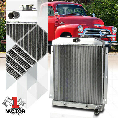 Aluminum 3 Row Core Performance Radiator For 47 54 Chevy Truck C K Pickup 6cyl
