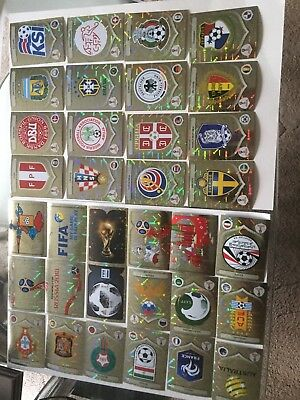 Panini FIFA World Cup 2018 Foil Stickers - SHINYS Choose one from list