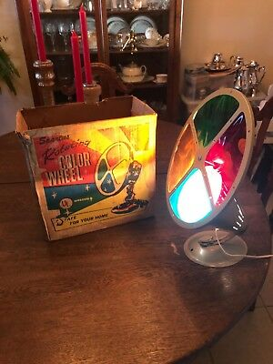 Vintage Penetray Motorized Color Wheel For Aluminum Christmas Tree