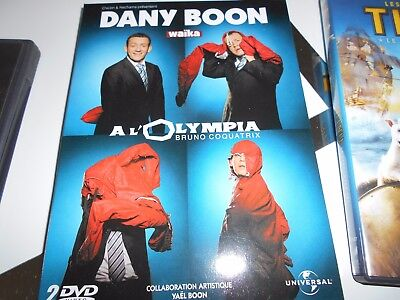 DVD Dany Boon .  ( spectacle a l Olympia )