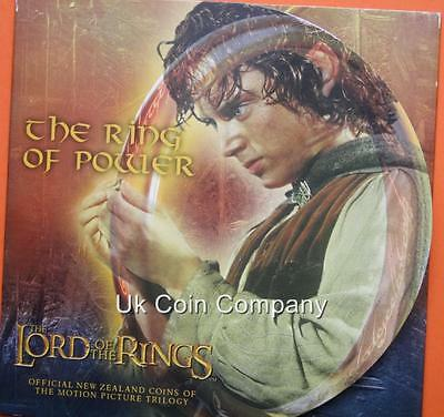 2003 Lord Of The Rings New Zealand Brilliant Uncirculated $1 One Dollar Coin