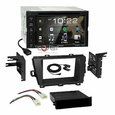 Kenwood 2018 Sirius Spotify BT Stereo Dash Kit Harness for 2010-12 Toyota Prius
