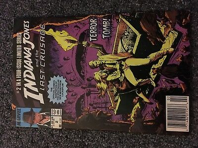 Indiana jones and the last crusade #2 marvel comic limited series