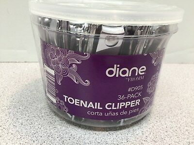 NEW 36 Count Diane Brand Toenail Clippers - TUB FOR RESALE      (5)