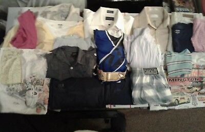 Mixed Clothing Lot Of 17 Random Clothing For Resell