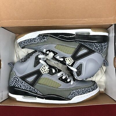 buy online d45d0 655f8 Nike Air Jordan Spizike Cool Grey Size 11 Black Cement Retro III IV V VI VII